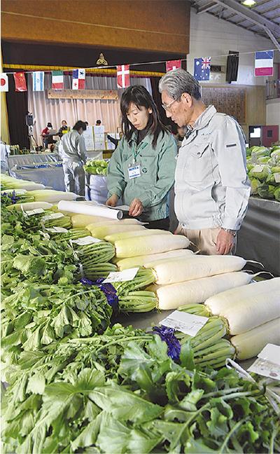 地元野菜を育み99年