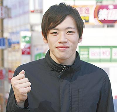 三村さん、また日本新