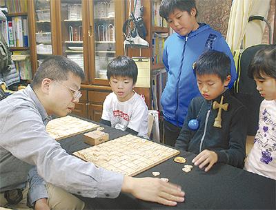 棋士から戦法学ぶ