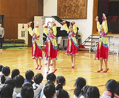 朝鮮学校と初の交流