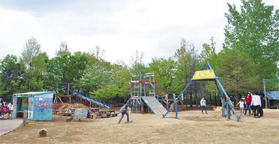 子どもが作る自由空間
