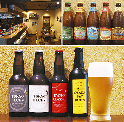 7カ国64種のクラフトビールがずらり