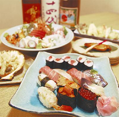 北海道直送!仕入れにこだわる寿司