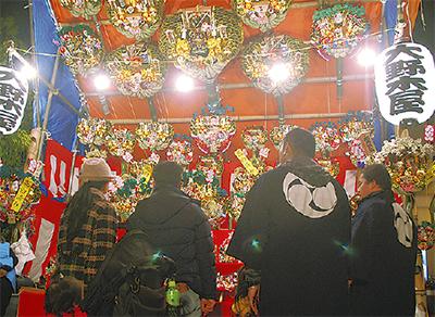 溝口神社で酉の市