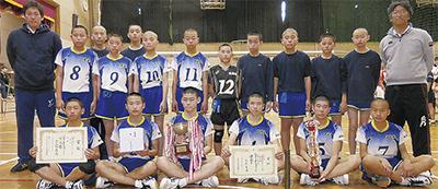 西高津中男子が初優勝