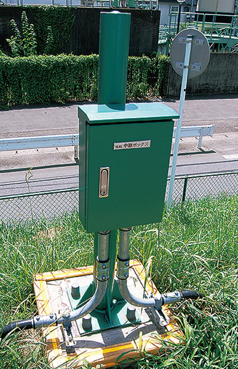 新型水位計、導入を検討
