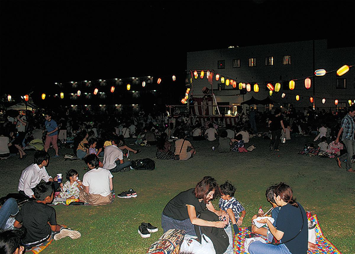 富士通ゼネラルで夏祭り