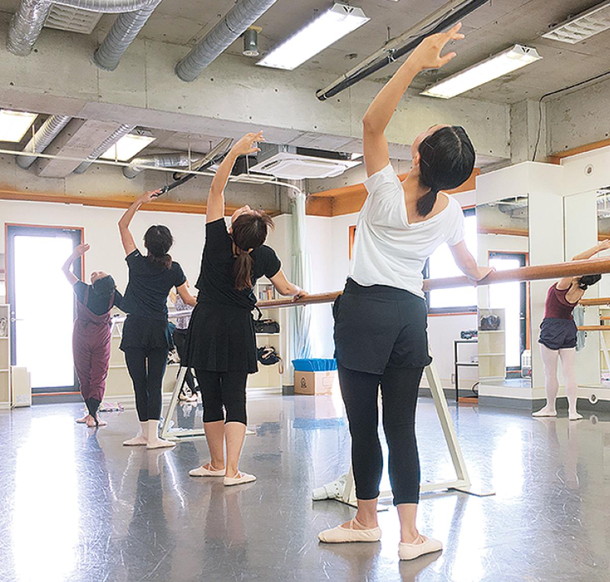 60代から始める初心者のためのバレエ