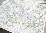 詳細な地図に見どころ地点をわかりやすく表示