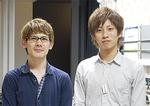 現地を訪問した宮坂さん(左)と薮田さん(右)