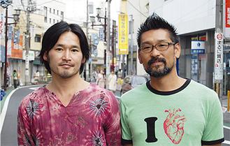 「登戸を盛り上げたい」井野さん(左)と原田さん(右)