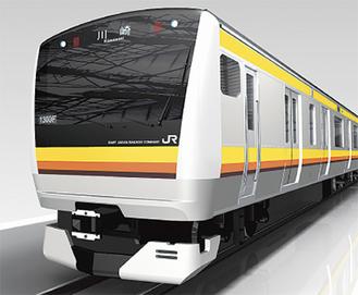 南武線の新車両のイメージ