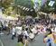 稲田公園で野外催し