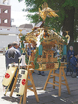 修復された神輿