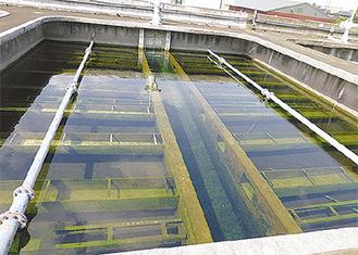 生田浄水場(2013年7月撮影)