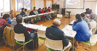 会合の一つ、自然環境保全管理会議=整備事務所提供