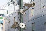 稲田堤駅前周辺の防犯カメラ