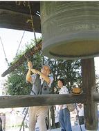 平和の願い、鐘に