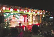 長沢祭礼、にぎやかに