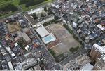 今年9月8日に撮影された同校の航空写真