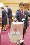選挙の解説や模擬投票も実施