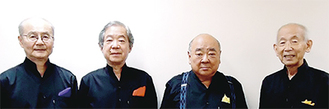 左から筒井さん、西野さん、菊谷さん、西田さん