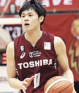 チームを引っ張る藤井選手
