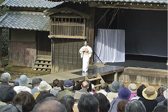 オペラ「夕鶴」の公演=区提供