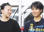 四宮選手(左)と梅崎選手