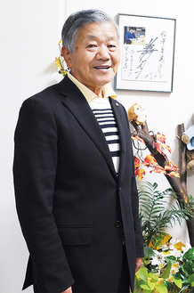 ●…多摩消防団第4代団長を2011年から16年度まで務めた。多摩区防火協会の相談役。青空会は会長を40年以上務め、現在は相談役。長沢在住、72歳。