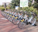 川崎市緑化センターに設置されたサイクルポート