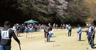 桜とゴルフ、交流10年
