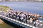 布田橋から見たピクニック橋