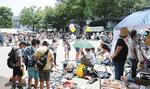 中野島商店会納涼バザールが同時開催