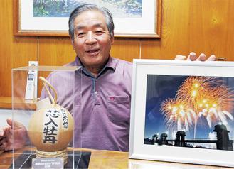 「日本人の楽しみの一つ」と語る小川さん