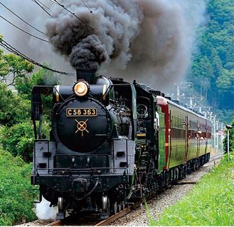 秩父鉄道SLパレオエクスプレス(イメージ)