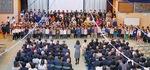 全校児童による合唱