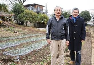 トカイナカヴィレッジの松本さん(左)、西山さん