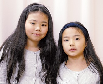 紅愛さん(左)と陽莉さん