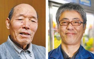講師の本多会長(左)と三平さん