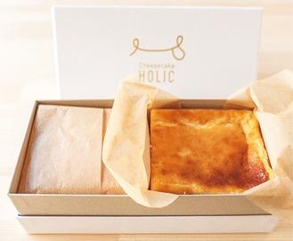 寄贈されたチーズケーキ       =KAORU提供