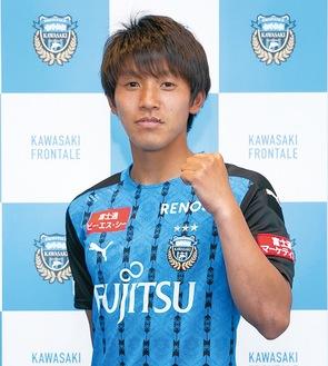 橘田選手©KAWASAKI FRONTALE