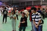 プロレス大会の会場で、障害者の就労支援など社会貢献に力を入れるヒートアップ(写真は2018年、カルッツかわさき)
