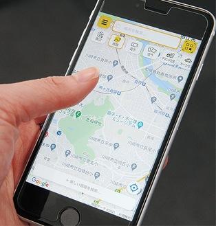 小田急のアプリ「EMot」