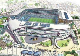 スタジアムのイメージ=市提供
