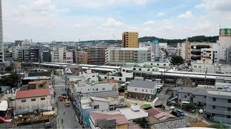 区画整理が進む向ヶ丘遊園駅(北口)の周辺