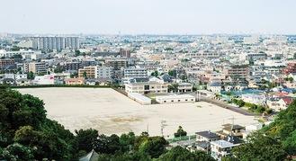 計画地の生田浄水場用地