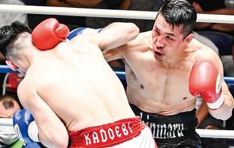 斉藤選手(右)=写真:山口裕朗
