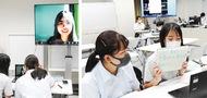 韓国生徒と遠隔交流
