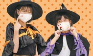 マスク仮装で入園無料